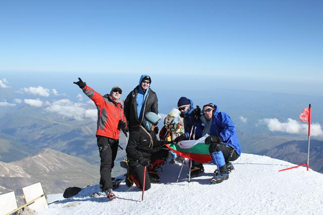На връх Елбрус