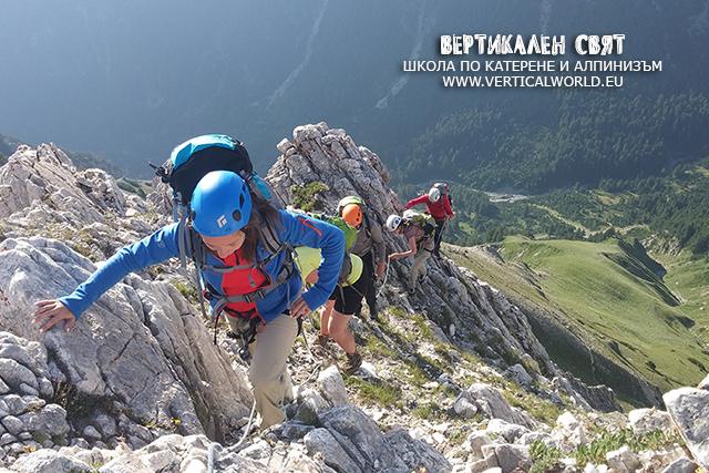 Изкачване на връх Вихрен по Джамджиев ръб, Хвойнати и Муратов връх