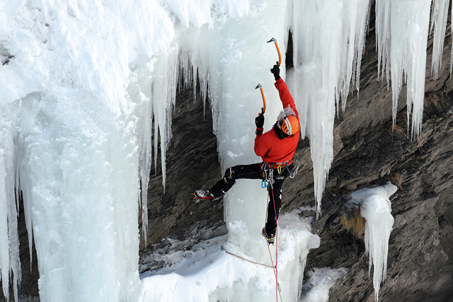 Ваучер за ледено катерене