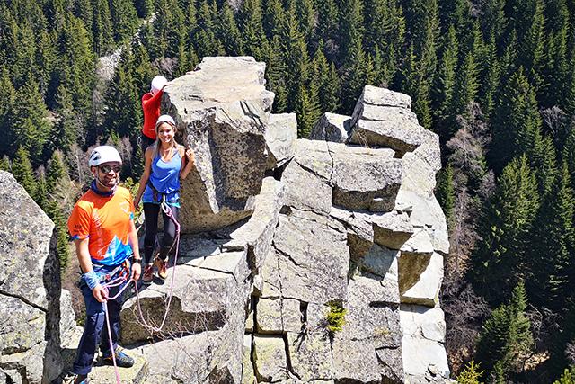 2-дневен курс по скално катерене на Витоша - първи стъпки