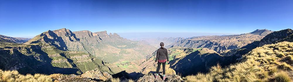 Поглед от връх Солунска глава