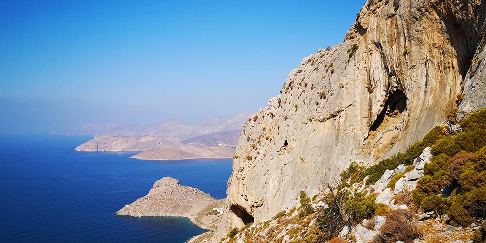 Катерачен трип до остров Калимнос, Гърция