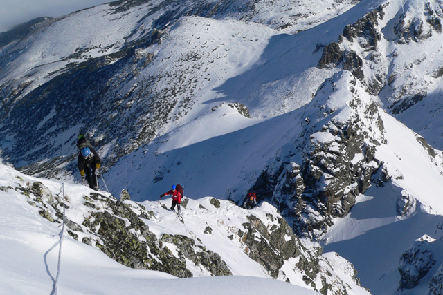 Зимно изкачване на връх Мальовица по Североизточния гребен