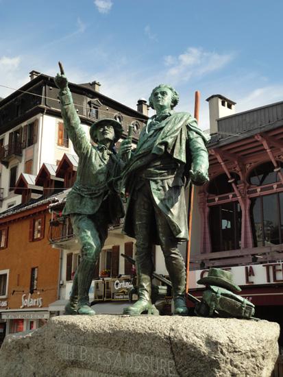 Паметник на Жак Балма и Сосюр
