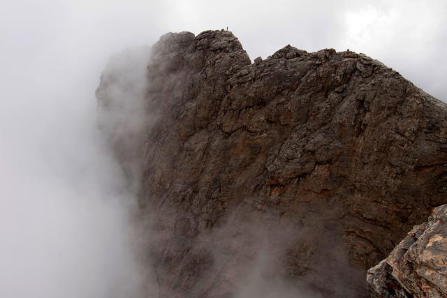 Връх Стефани гледан от връх Митикас