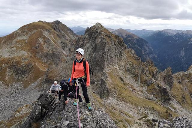 Източния гребен на връх Орловец и Южната стена на Злия зъб