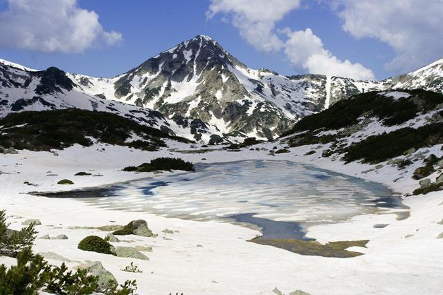 Зимно изкачване на Муратов връх по Източния ръб