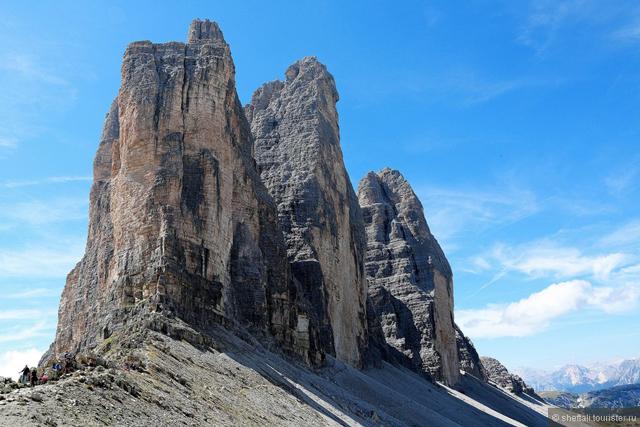 Изкачване на връх Чима Гранде де Лаваредо