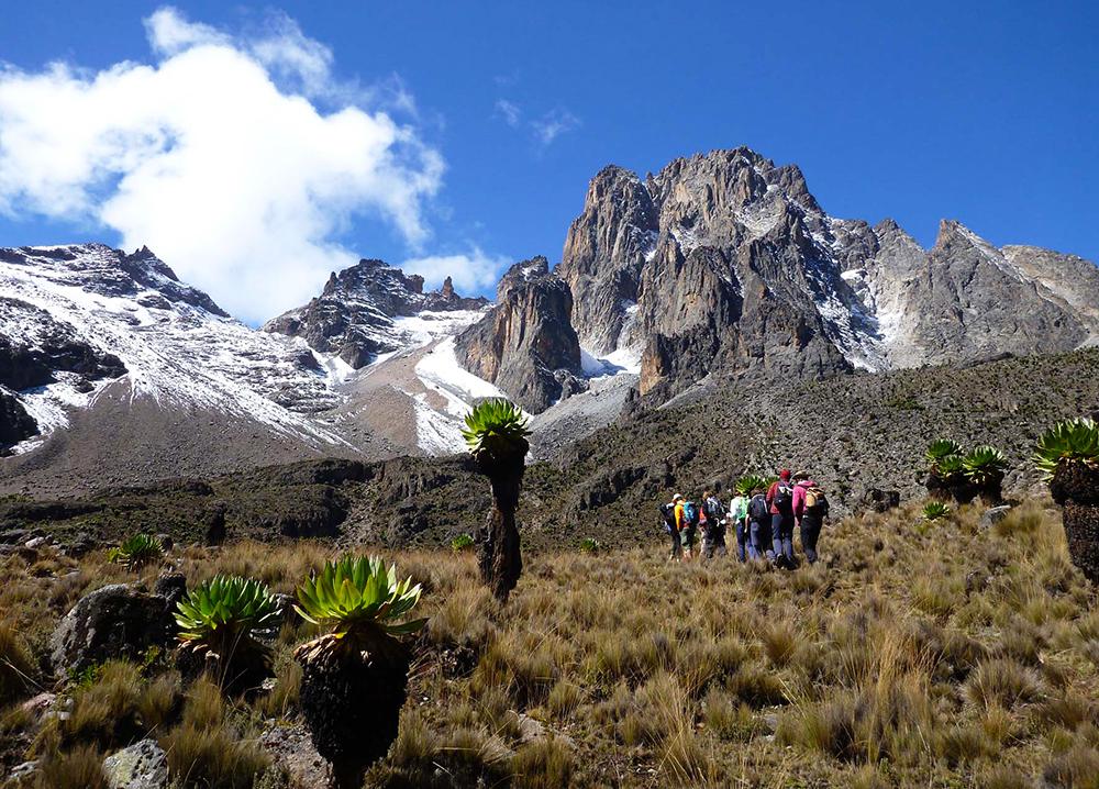 Изкачване на Маунт Кения