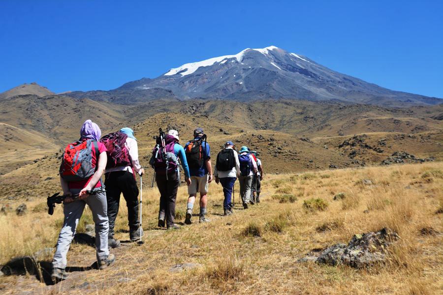 Изкачване на връх Арарат