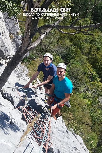 5-дневен курс по скално и алпийско катерене - начално ниво