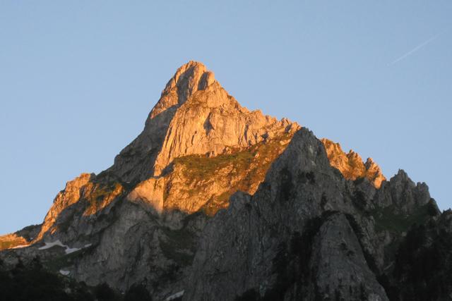 Връх Очняк в долината Гърбая, Черногорска Проклетия