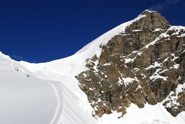 На ръба Rottalsattel