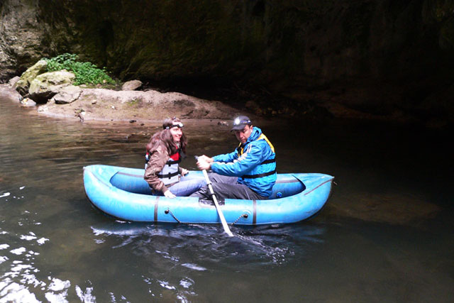 Extreme Adventure in The Trigrad Gorge