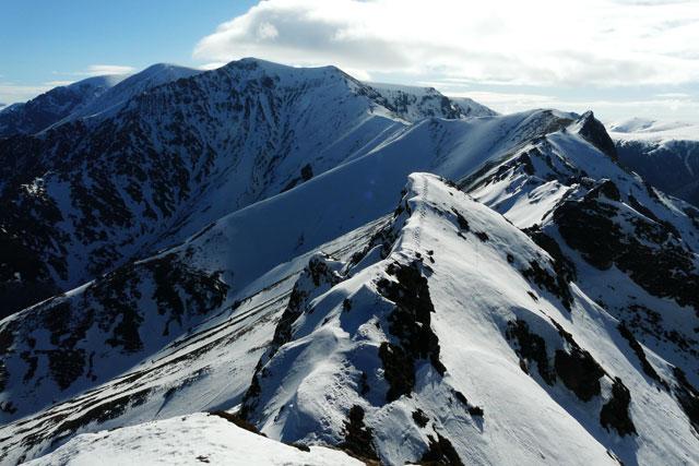 Най-алпийската и трудна част от траверса
