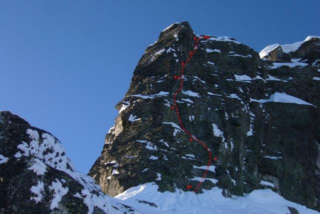 Изкачване на връх Злия зъб по Източния гребен