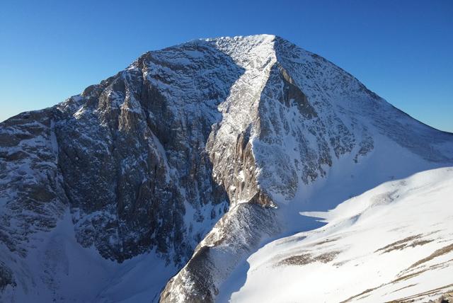Северния ръб на връх Вихрен
