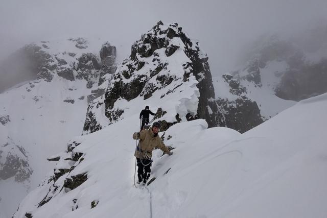 Зимно изкачване на връх Двуглав