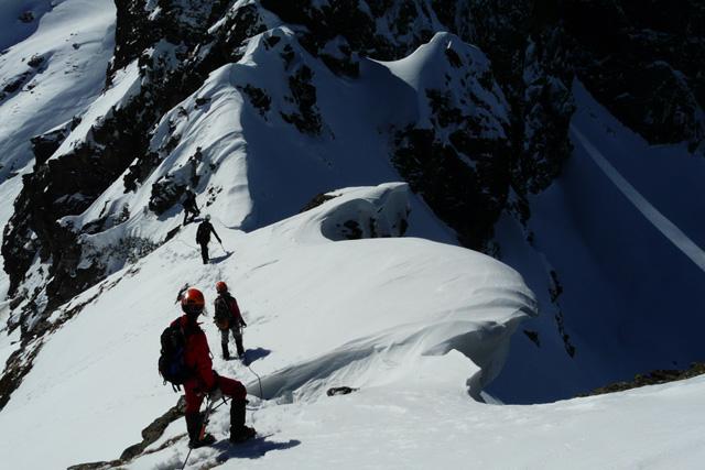 Малко след слизането от връх Малка Мальовица